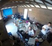 20/40m Operators hard at work
