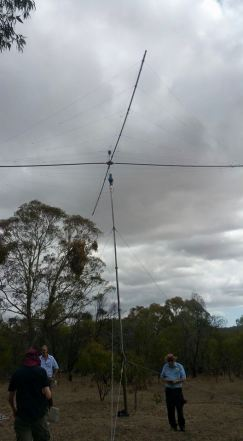 10/15m Spider Beam in the air