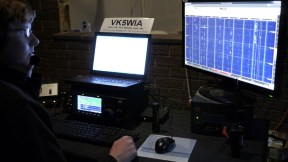 VK5QI operating VK5WIA on 20m