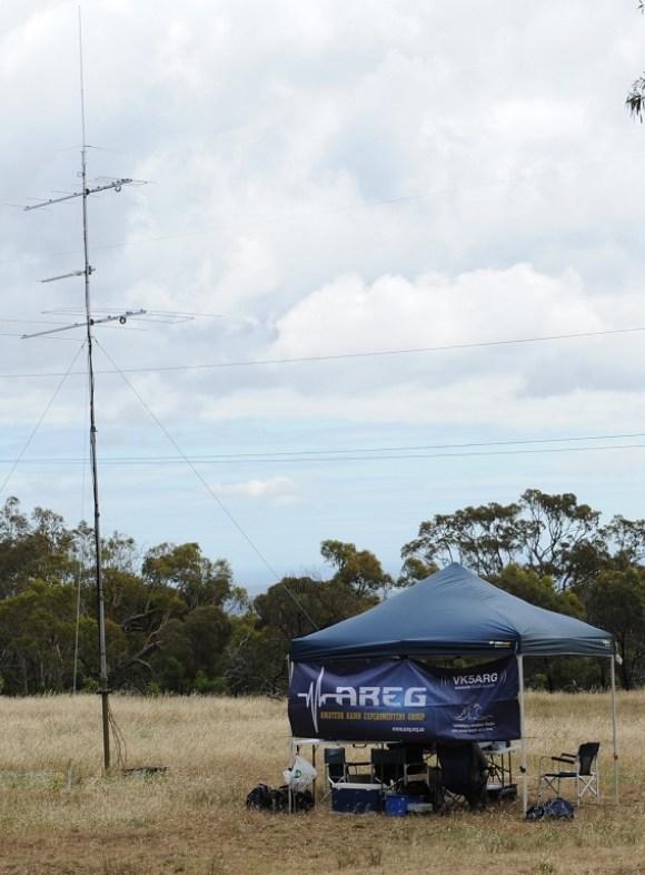 VHF/UHF Spring Field Day - VK5ZM 2015