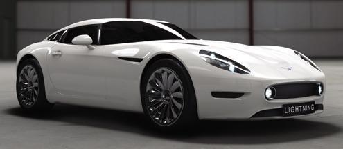 Electric Lightning GT vine in 2012 in UK