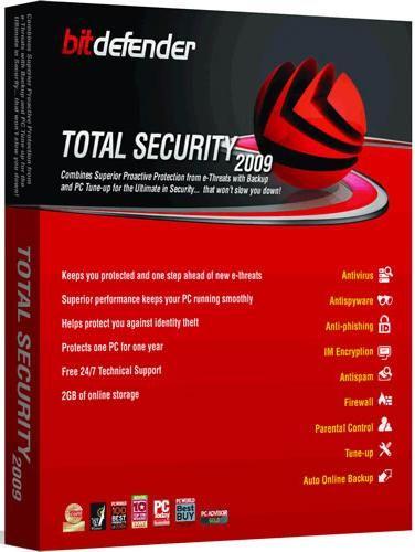 Review: BitDefender Total Security 2009