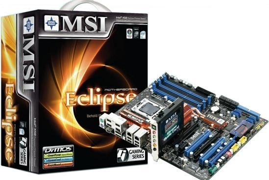MSI pregateste Eclipse SLI X58