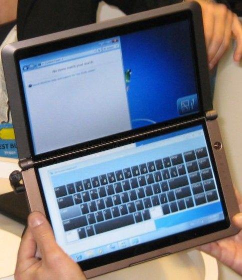 Netbook dual screen
