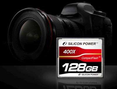 Primul card CF de 128 GB