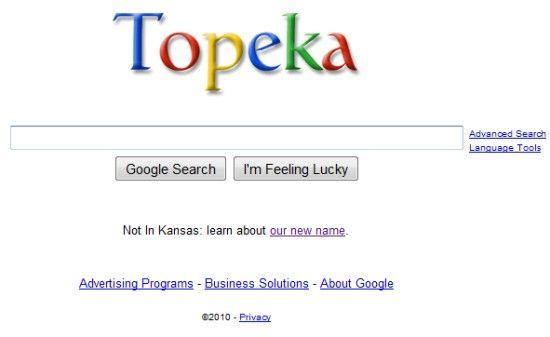 Google devine Topeka