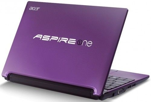 Acer Aspire One D260 dezvaluit