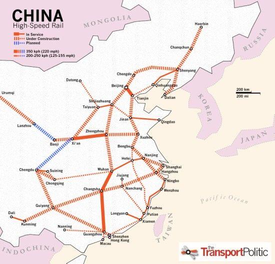 China are cel mai rapid tren