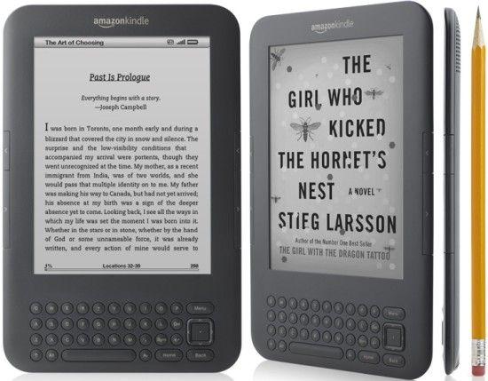 Kindle la generatia a treia
