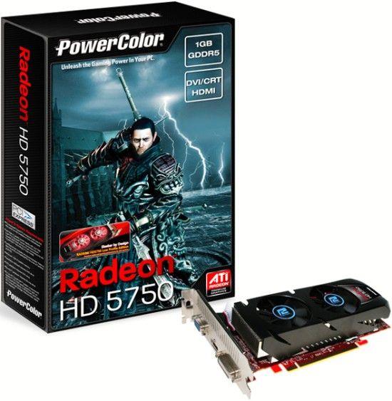 HD 5750 cu profil redus
