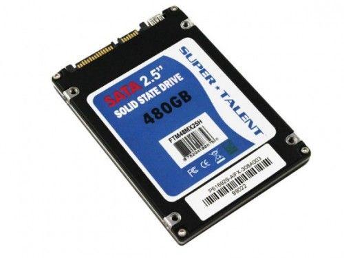 Super Talent vinde un SSD de 480 GB