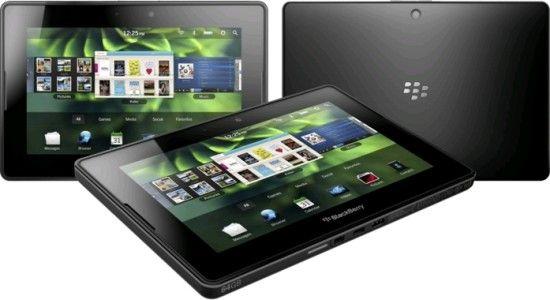 BlackBerry PlayBook lansat