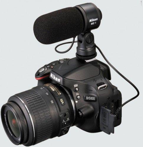 Nikon lanseaza D5100 si ME-1