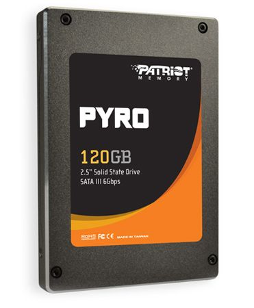 Patriot Pyro SATA III SSD