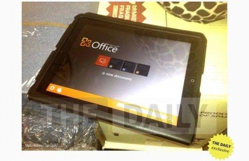 Microsoft Office pentru iPad