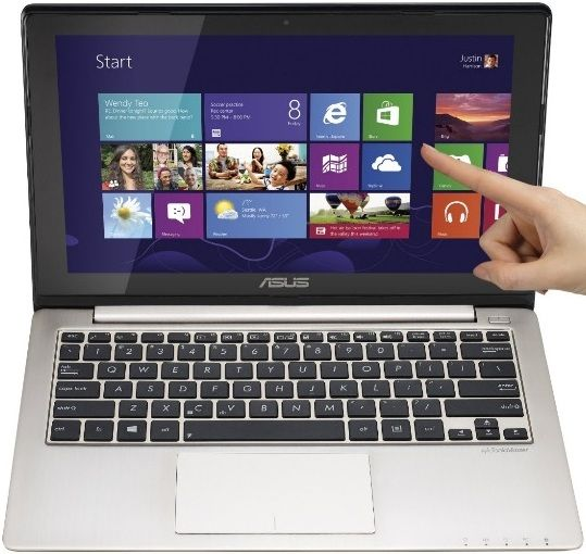 Laptop-uri tactile de la Asus