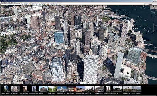 Google Earth 7: tour guide si cladiri 3D