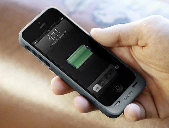 mophie juice pack helium 550x417 Carcasa cu baterie pentru iPhone 5