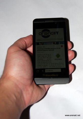 BlackBerry Z10 Review - Poza 7