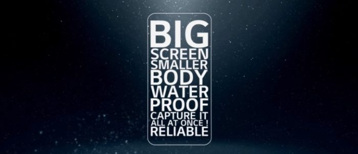 Teaser LG G6 - rezistent la apa, ecran mare si corp mic