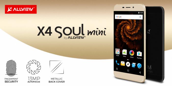 Allview a lansat X4 Soul Mini