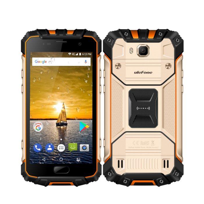 Ulefone Armor 2 - smartphone ultra rezistent la socuri si apa
