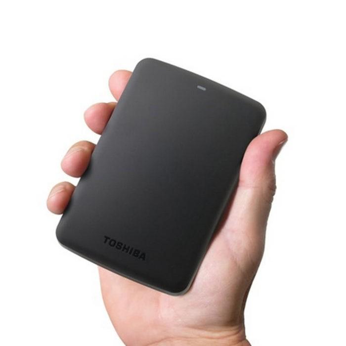 Toshiba Canvio Basics - HDD extern de 2TB la un pret foarte bun