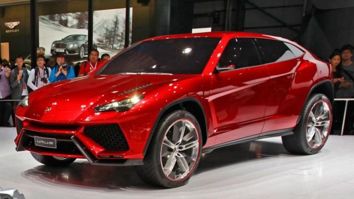 Lamborghini Urus - primul SUV al companiei