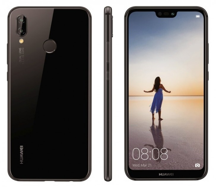 Huawei P20 mizeaza pe fotografie si este insotit de fratiori