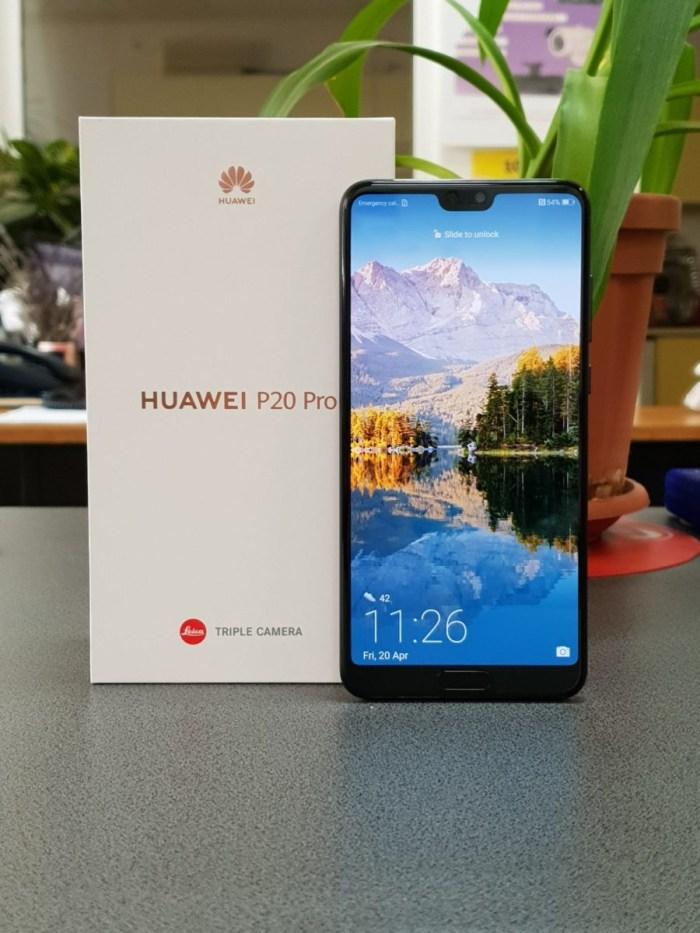 Unboxing - Testam Huawei P20 Pro prin programul Orange Smartphone Tester
