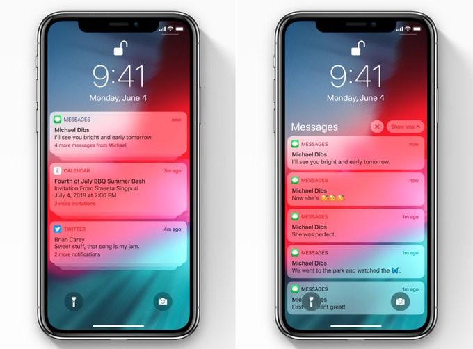 Ce aduce nou iOS 12 - notificari grupate, Siri mai inteligenta si performanta crescuta