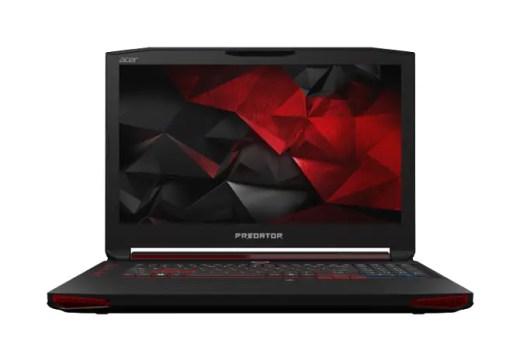 Desain Acer Predator Depan