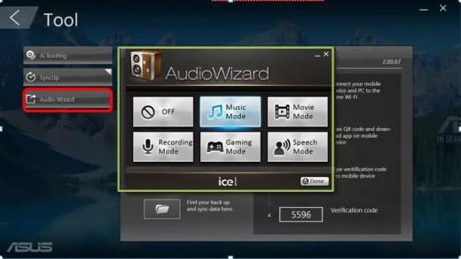 asus audiowizard