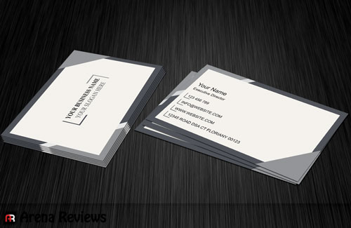 Simple business card modern design business card a simple business card template is one of the most significant and cost effective marketing tools an enterprise has it helps persons recall you after they accmission Choice Image