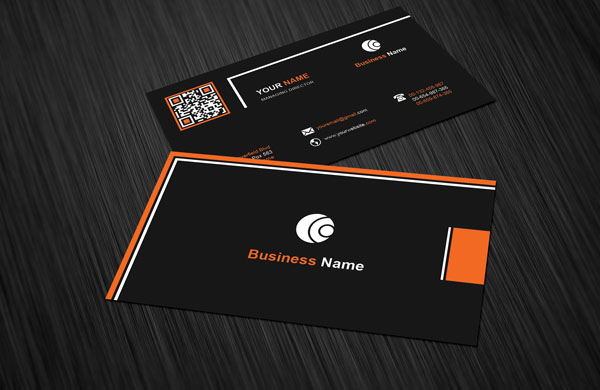 Black orange business card template download free black orange business card template is clean black color background card design is personal use or your business easy editable template with suit you friedricerecipe Choice Image