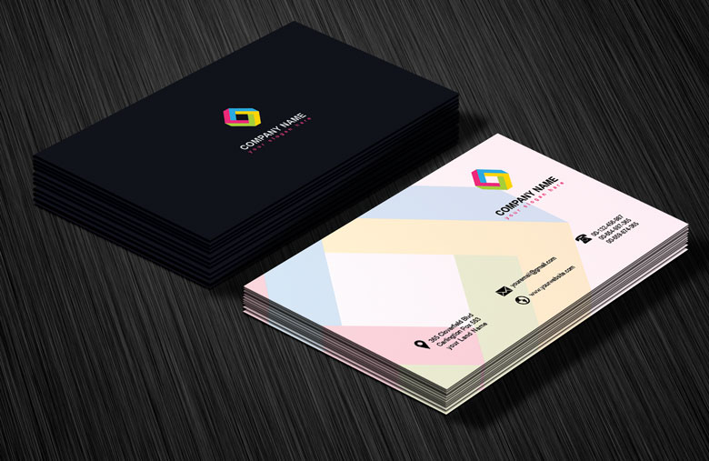 Professional Business Card Design Template Free - Professional business card design templates