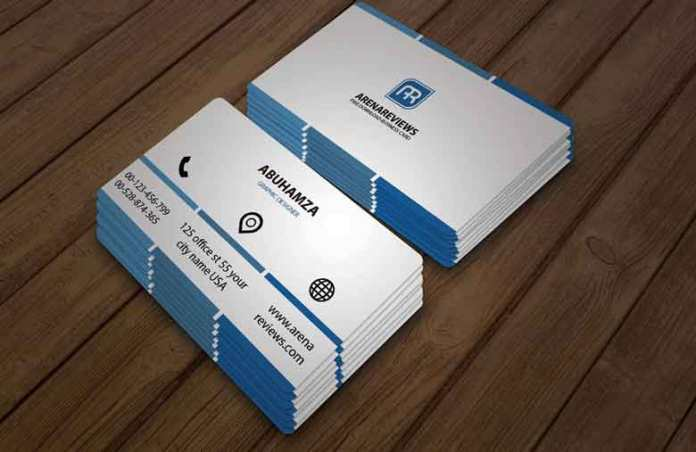 Free downloadable classy business card template professional business card template maxwellsz