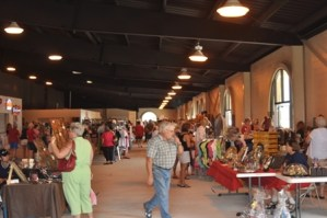 Commons Area with Vendors