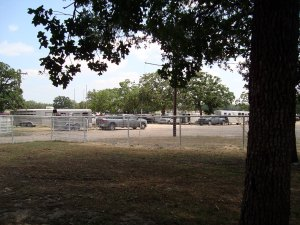Lee County Sheriff's Posse Arena parking