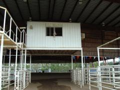 Sabine County Expo Center Announcers booth