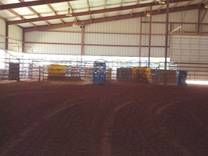 Marshall City Arena Roping Boxes