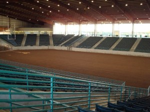 Lone Star Convention and Expo Center Main Arena inside