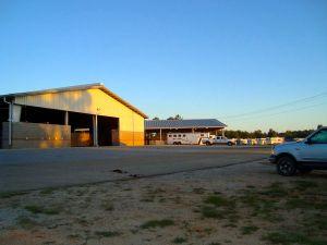 Stalls looking toward RV parking