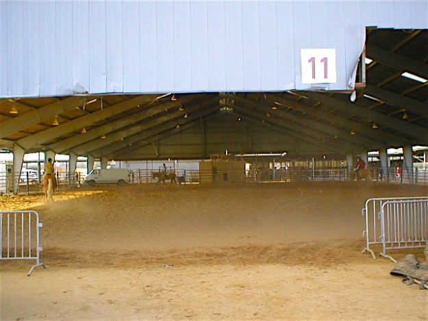 Another covered arena