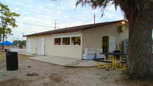 Lee County Posse Arena Concessions - restroom