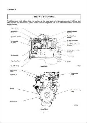 JCB Cummins 4B 39  6B 59 Engine Service Repair Manual