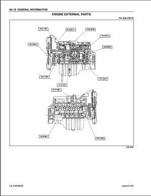Case ISUZU 6HK1 Engine Service Repair Workshop Manual | A