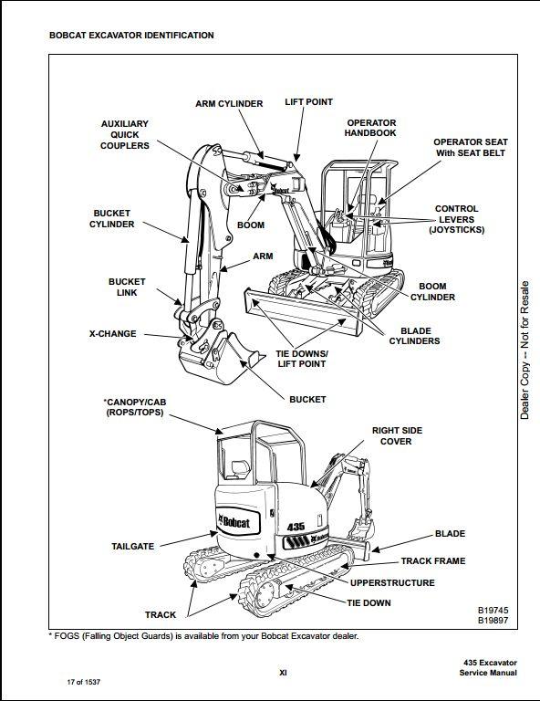Bobcat Mt55 Parts