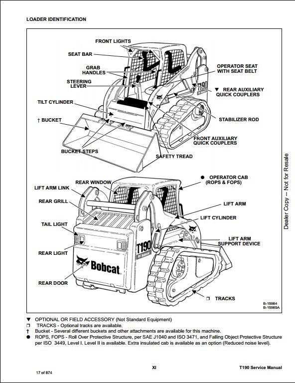 Bobcat T190 Wiring Schematic