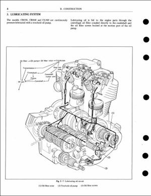 1976 Honda CB250360,CL360,CJ250T,CJ360T Motocycle Service